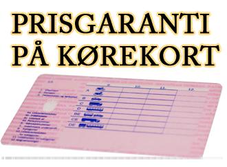 prisgaranti B-kørekort